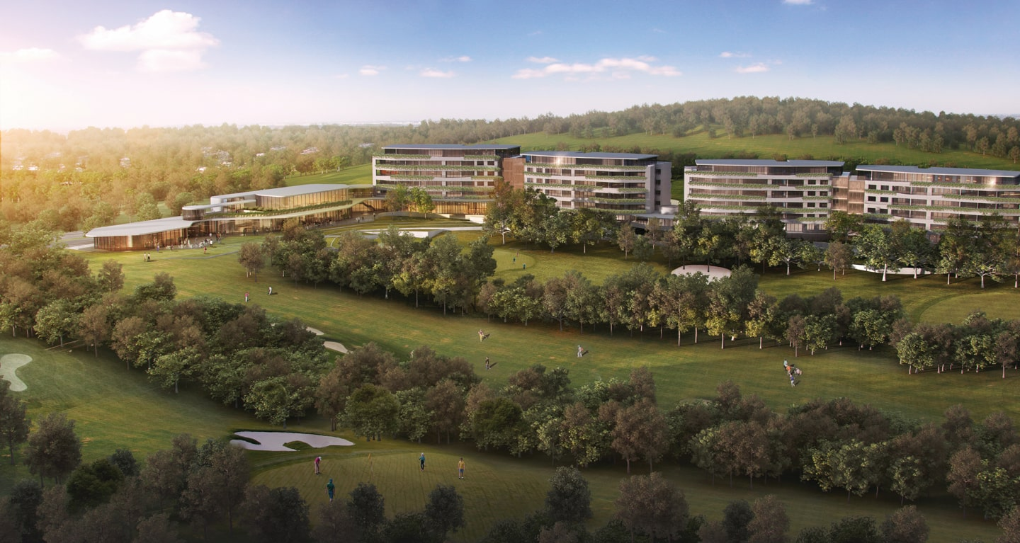 Golf Residences Planned for Mereweather Golf Course