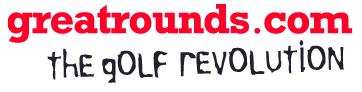 greatrounds website logo white background